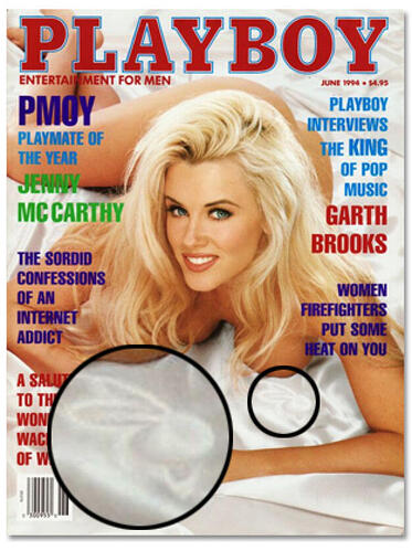 Playboy Magazine has a bunny on every cover, and 6 other Easter Eggs hidden in famous publications.