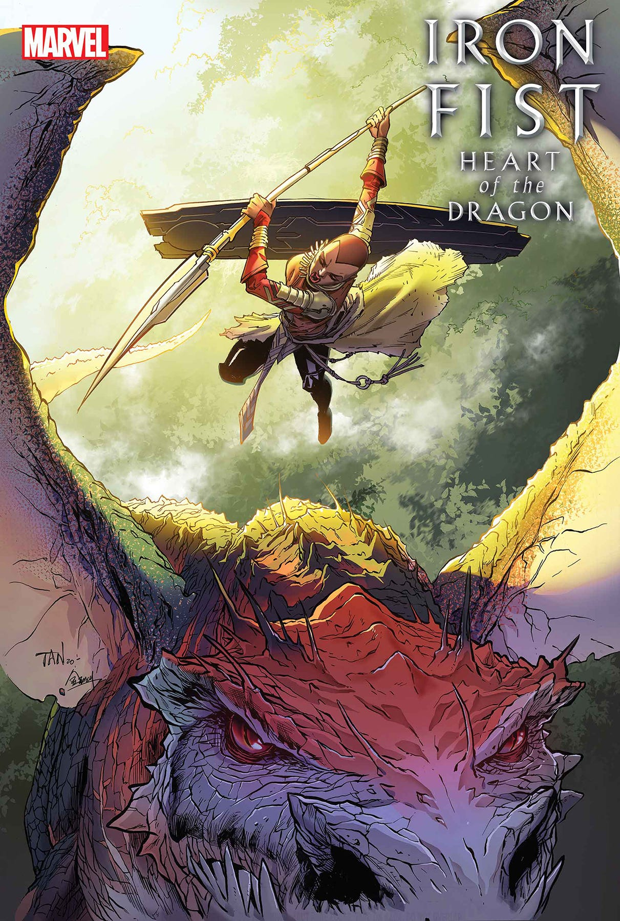 Iron Fist Heart of Dragon #3 (of 6)