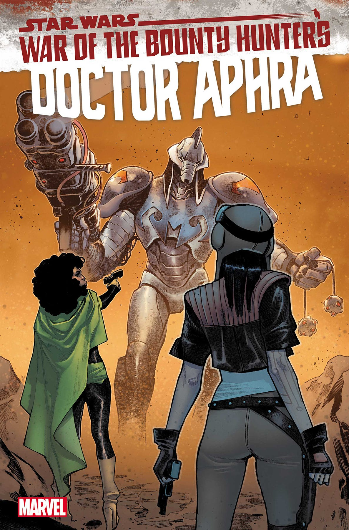 Star Wars Doctor Aphra #11 War of the Bounty Hunters