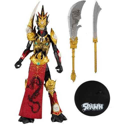 Mandarin Spawn Red Outfit 7-Inch Action Figure