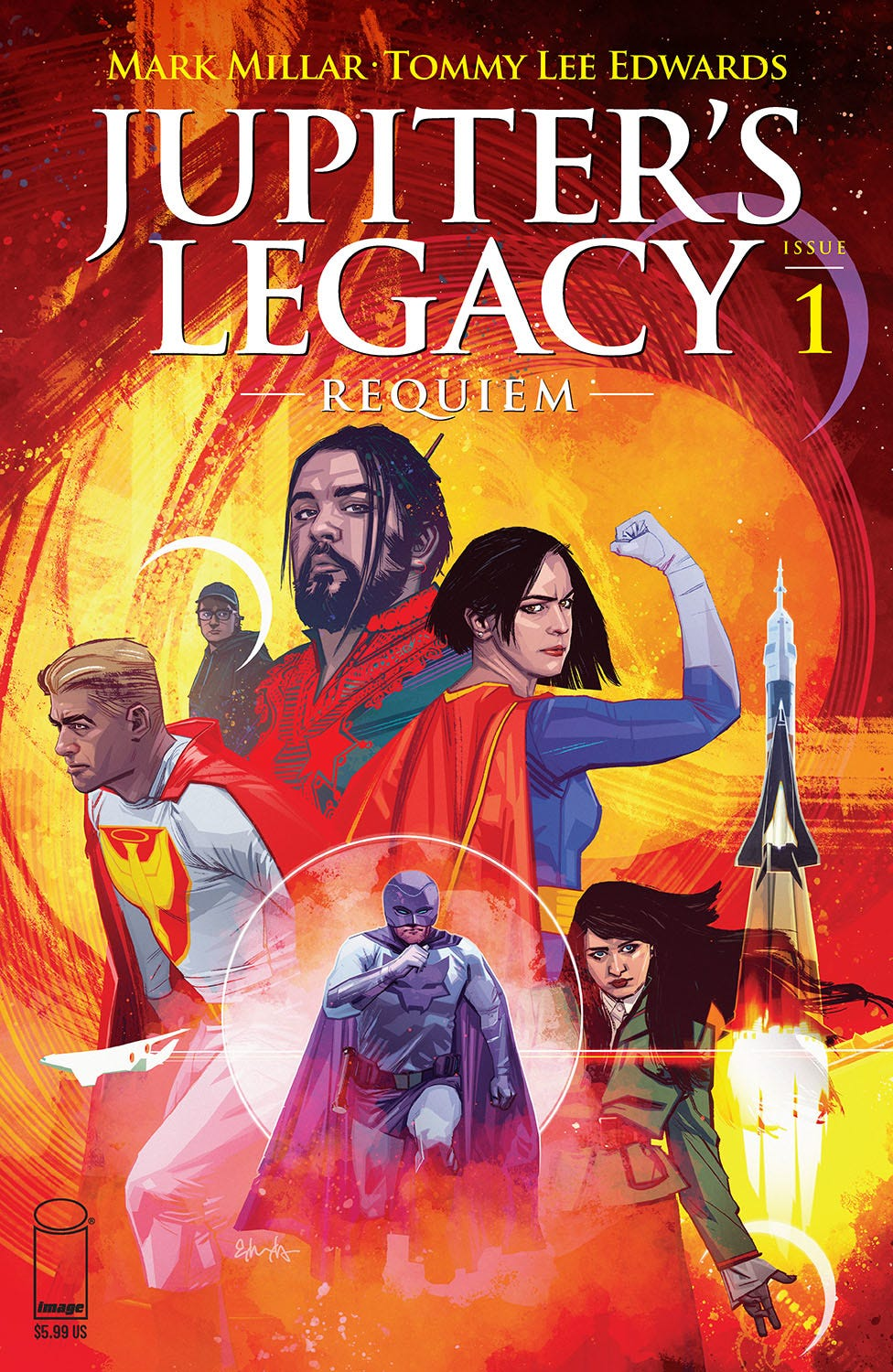 Jupiters Legacy Requiem #1 (of 5) (Cover A - Edwards)