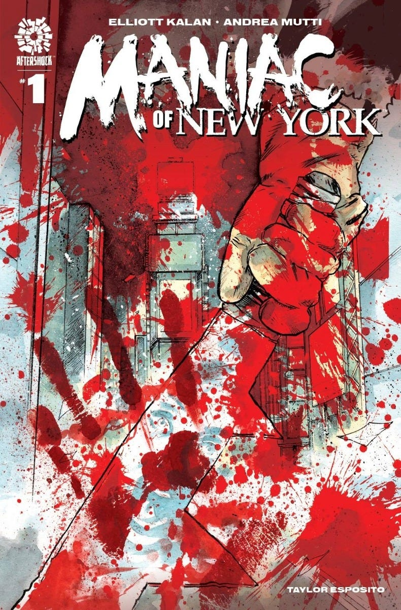 Maniac of New York #1 (2nd Printing)