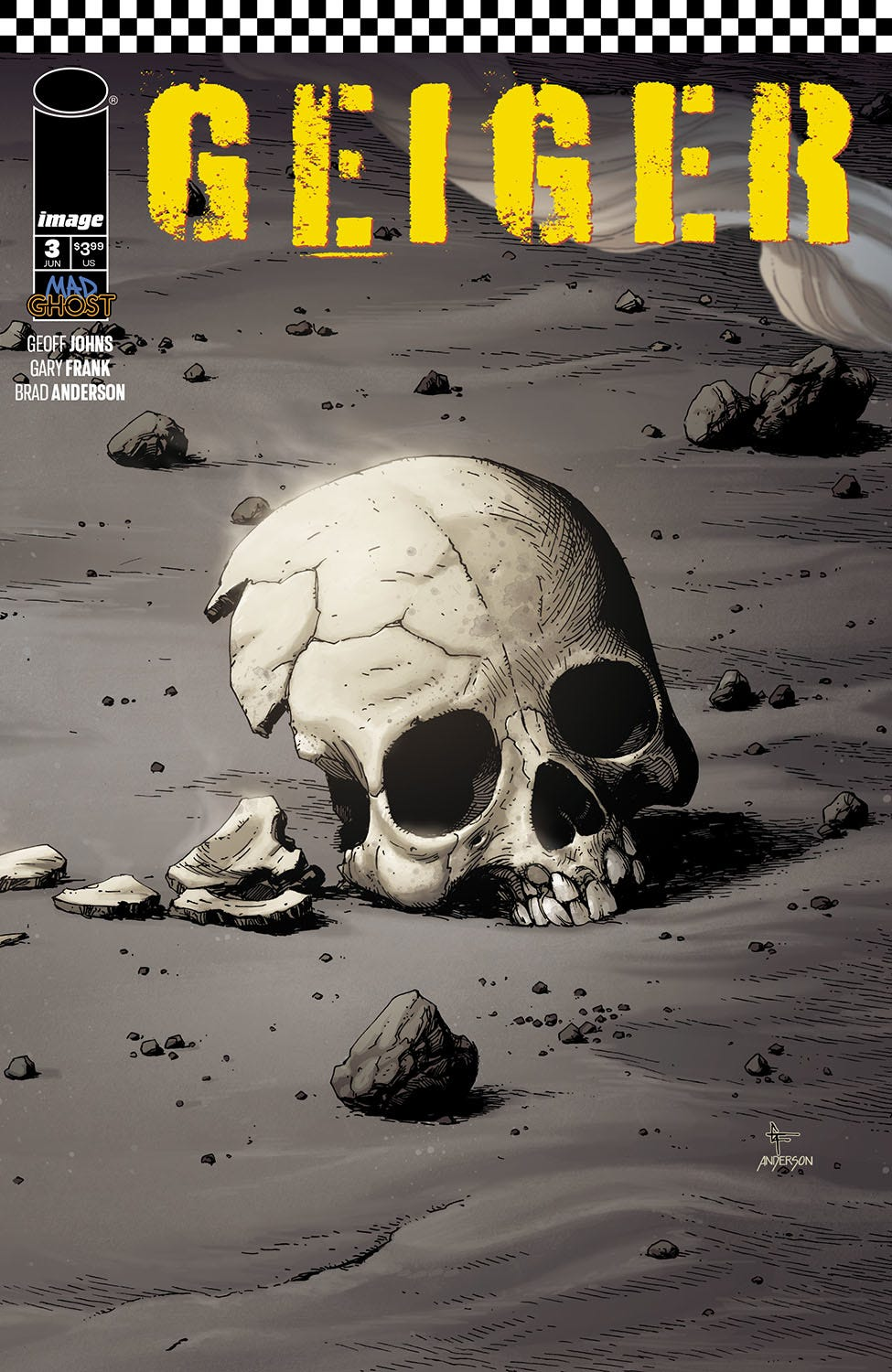 Geiger #3 (Cover A - Frank & Anderson)