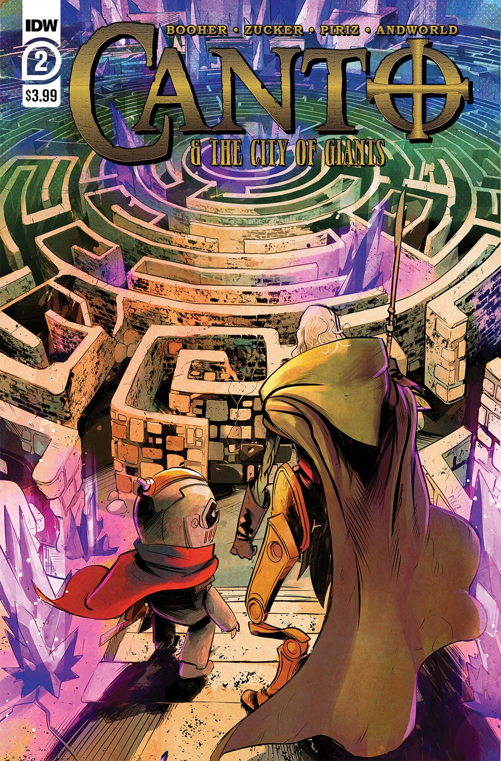 Canto & City of Giants #2 (of 3)