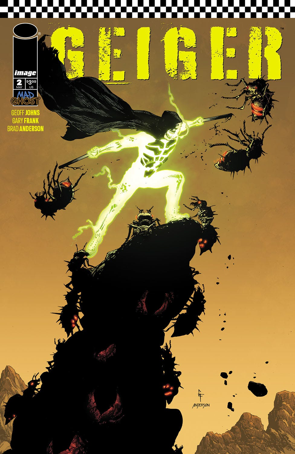 Geiger #2 (Cover A - Frank & Anderson)