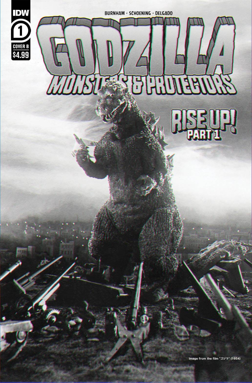Godzilla Monsters & Protectors #1 (Cover B - Photo Cover)