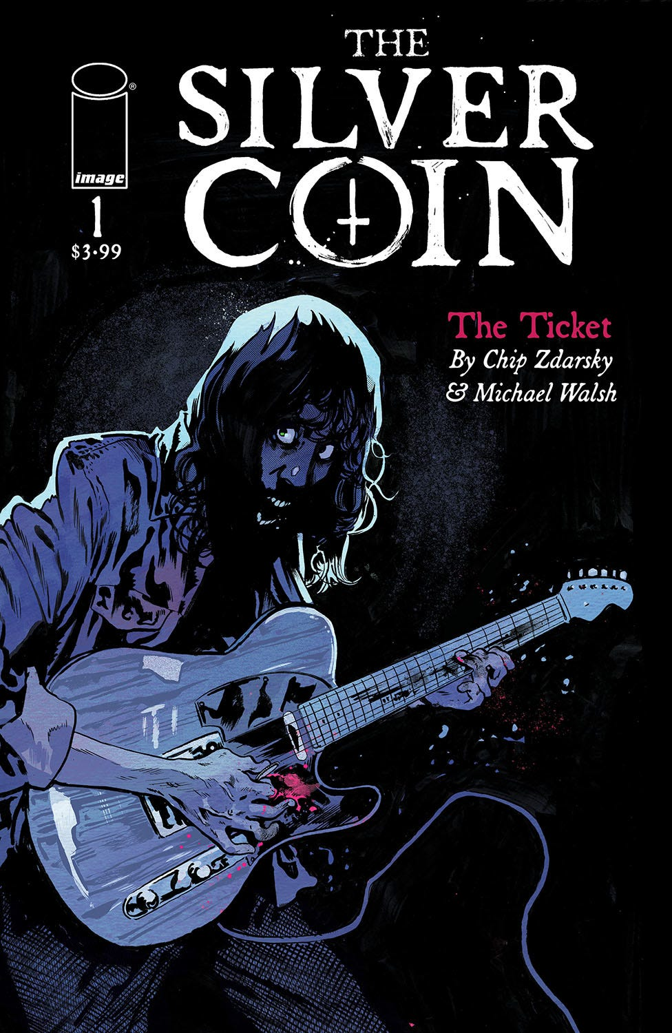 Silver Coin #1 (of 5) (Cover A - Walsh)