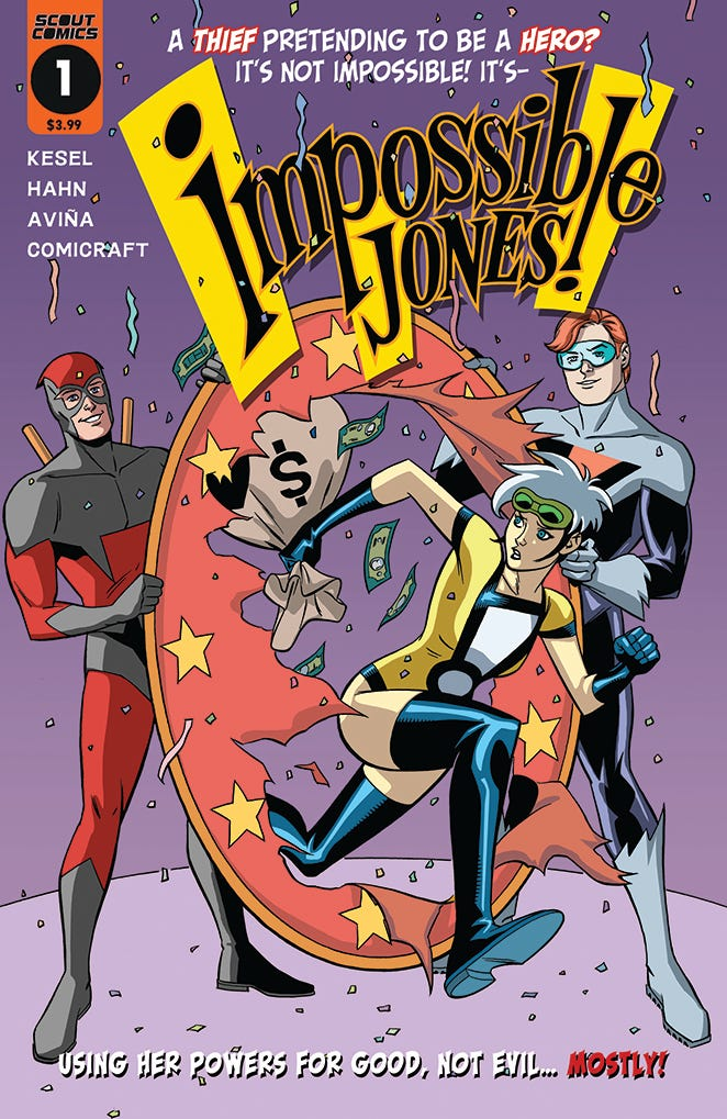Impossible Jones #1 (of 4) (Cover A - Hahn & Kesel)