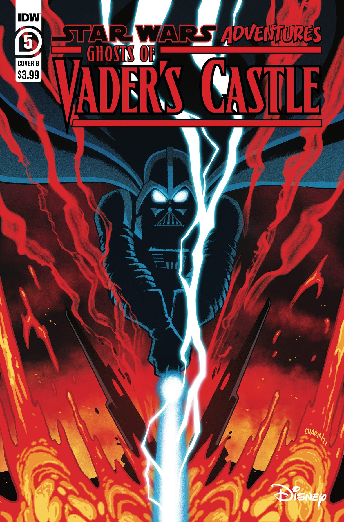 Star Wars Adv Ghost Vaders Castle #5 (of 5) (Cover B - Charm)