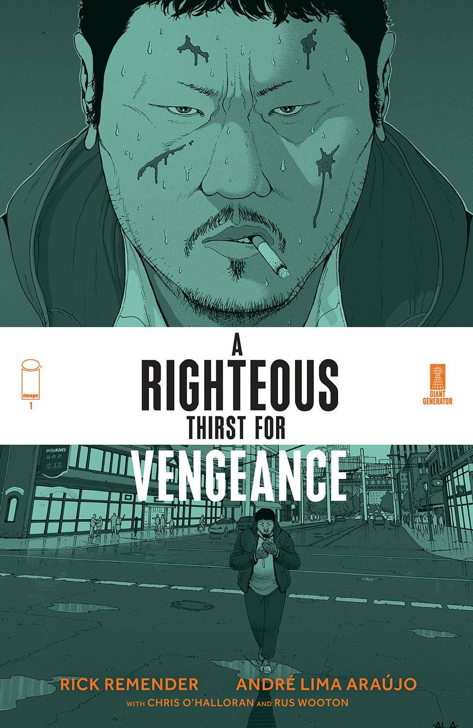 Righteous Thirst for Vengeance #1 (Cover A - Araujo & Ohalloran)
