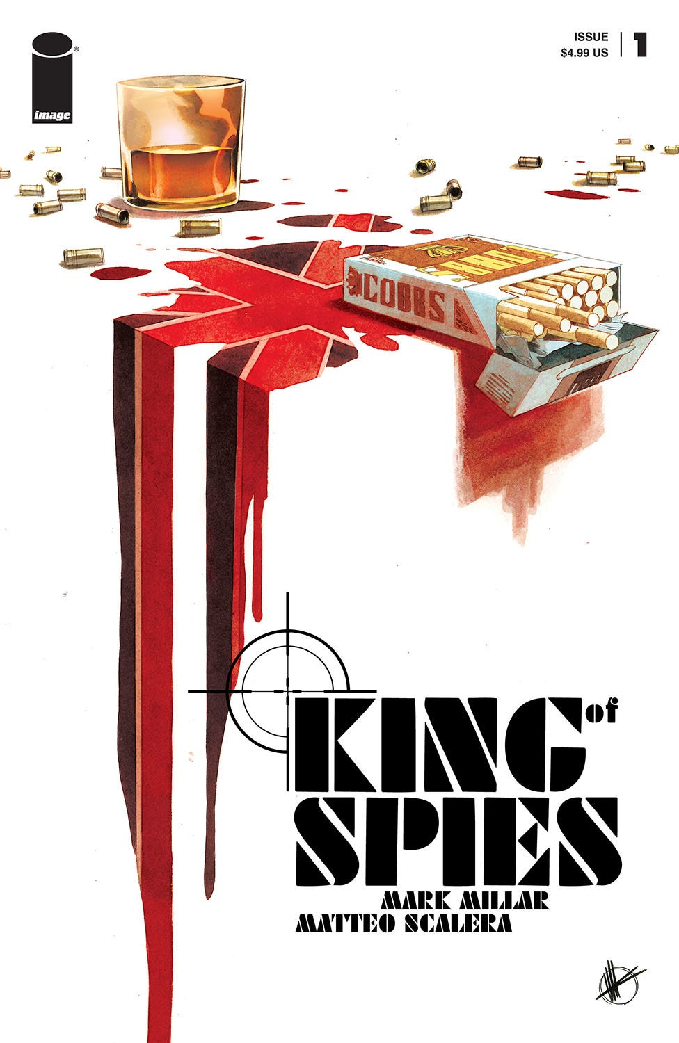 King of Spies #1 (of 4) (Cover A - Scalera)