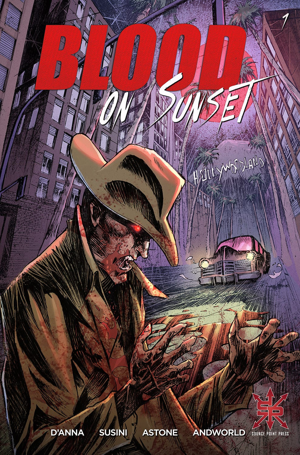 Blood on Sunset #1 (of 5) (Cover A - Susini)
