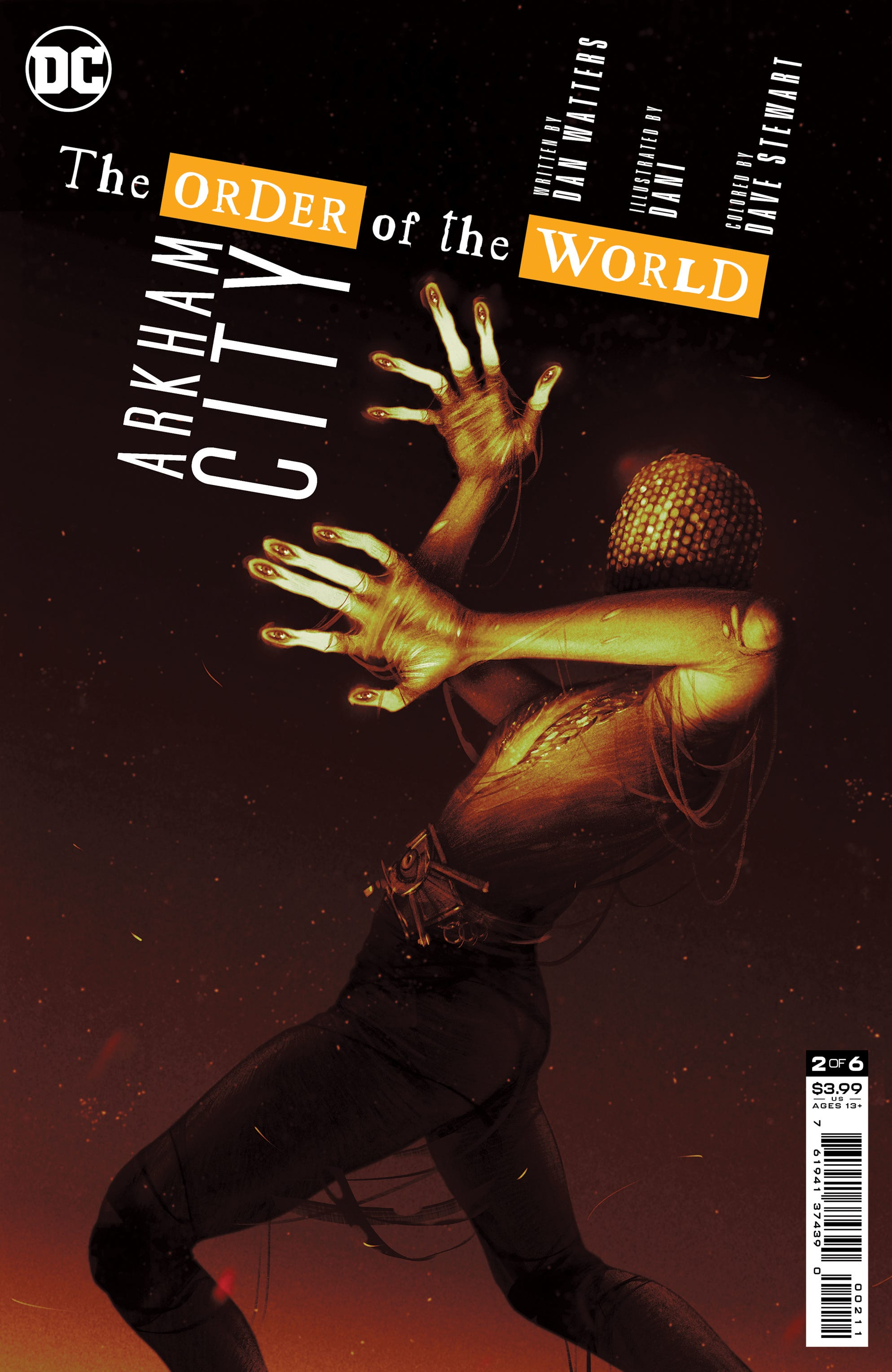 Arkham City the Order of the World #2 (of 6) (Cover A - Sam Wolfe Connelly)