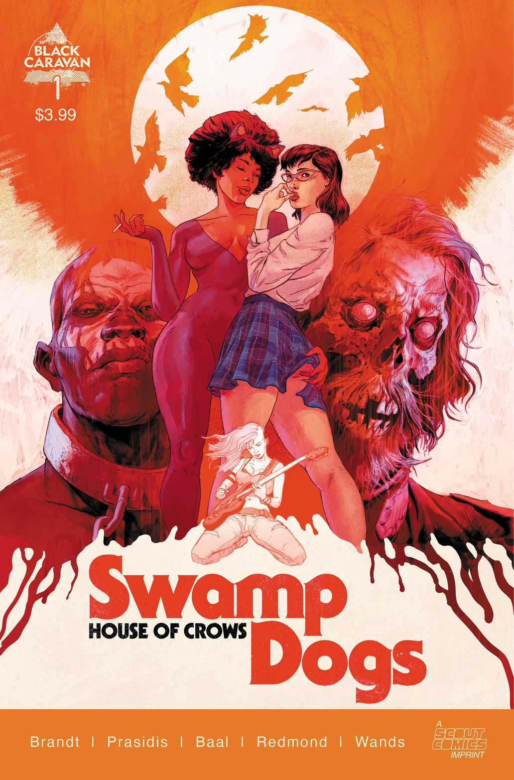 Swamp Dogs #1 (Cover A - Sammelin)