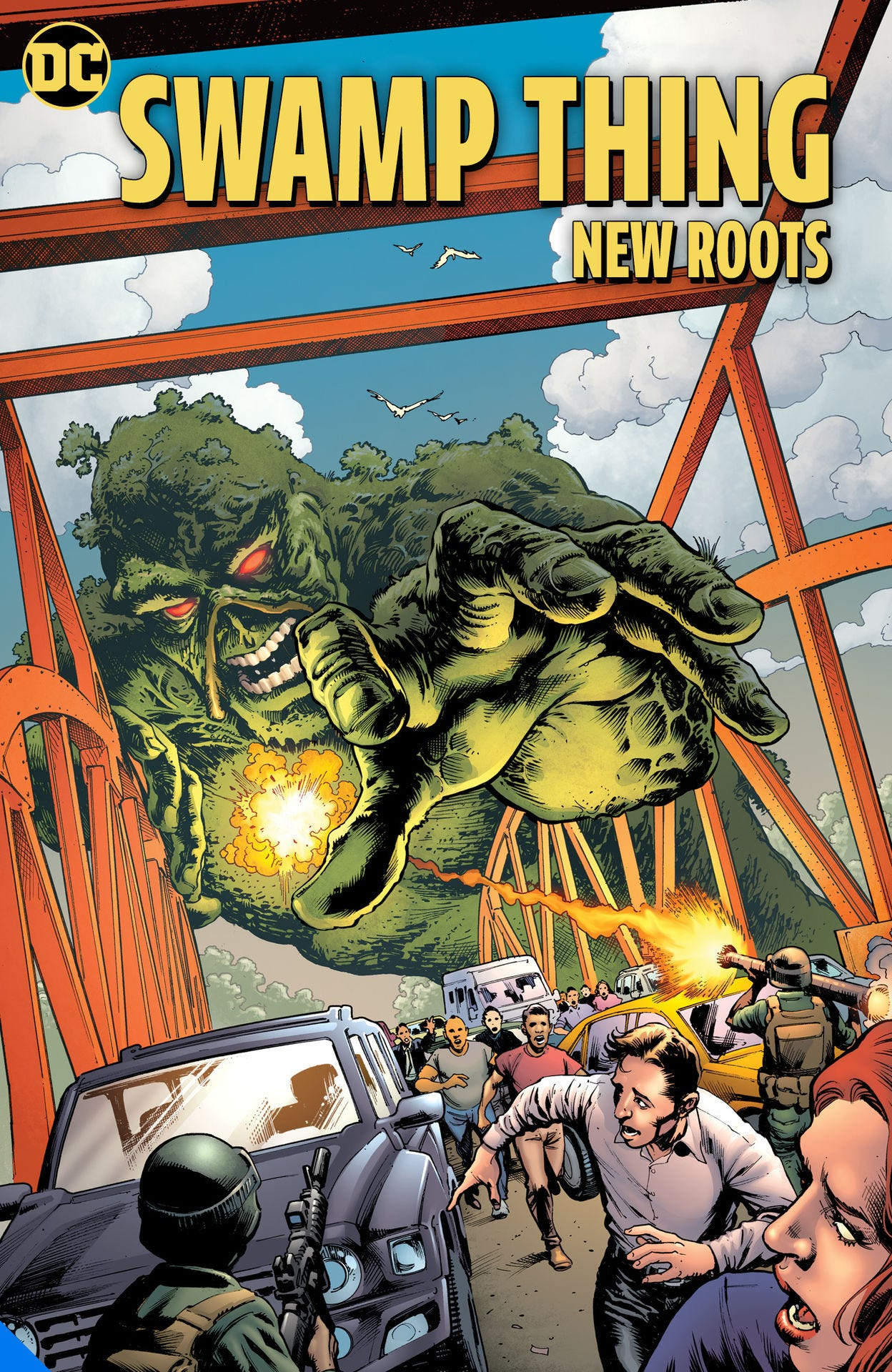 Swamp Thing New Roots TPB