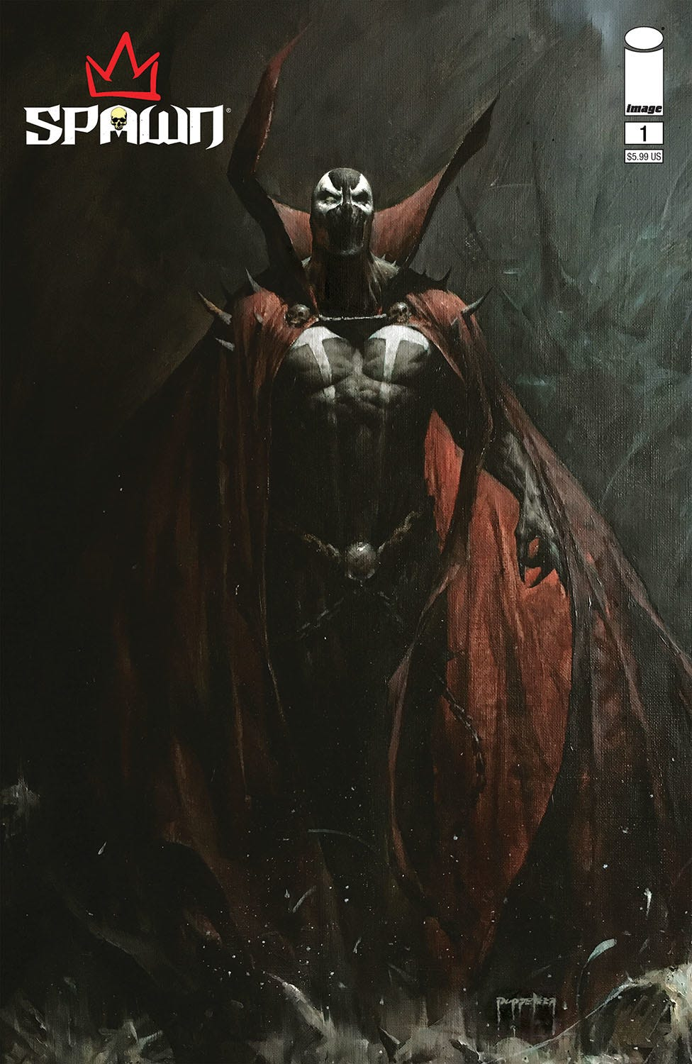 King Spawn #1 (Cover A - Lee)