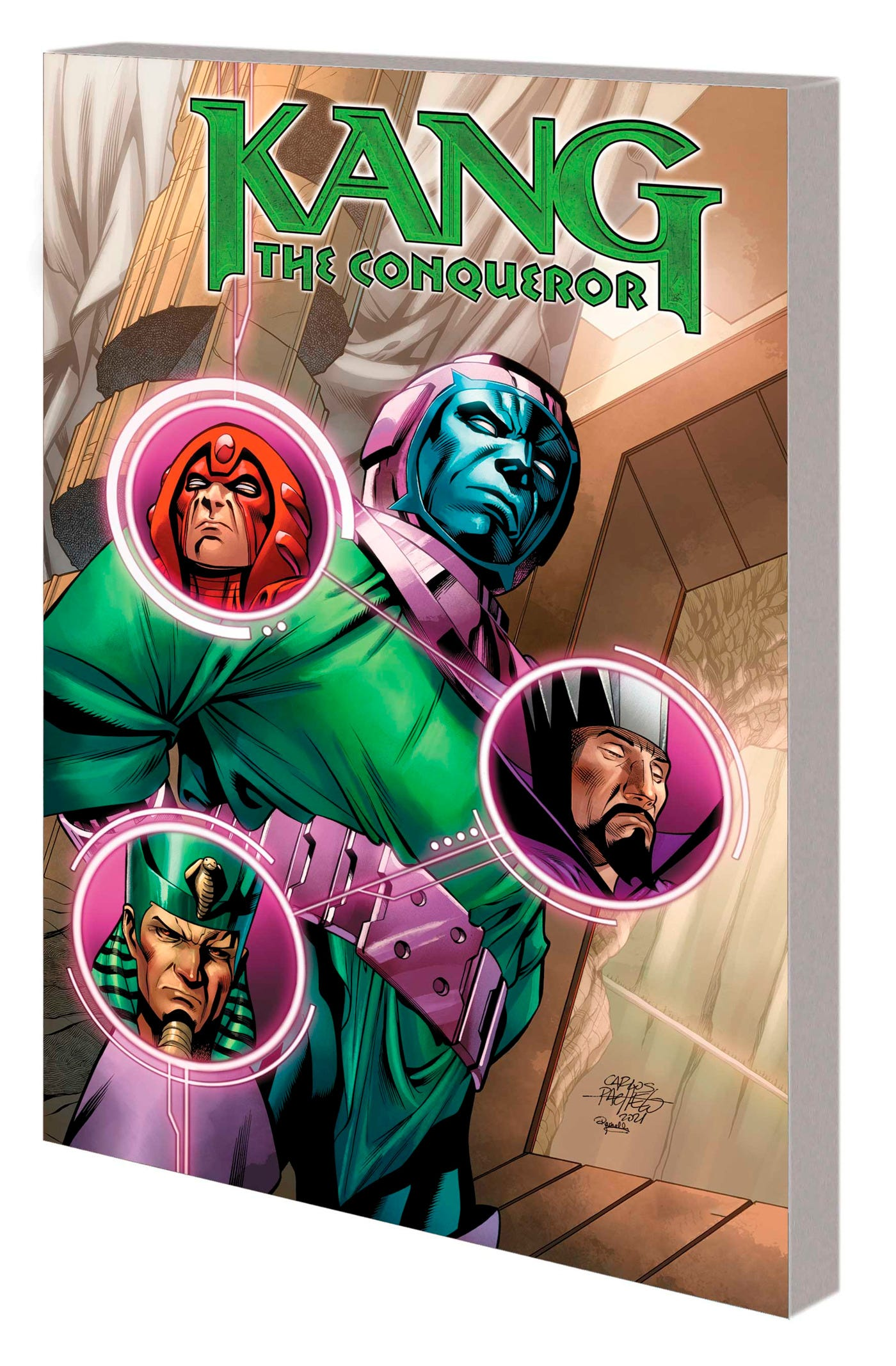 Kang the Conqueror TPB Only Myself Left to Conquer