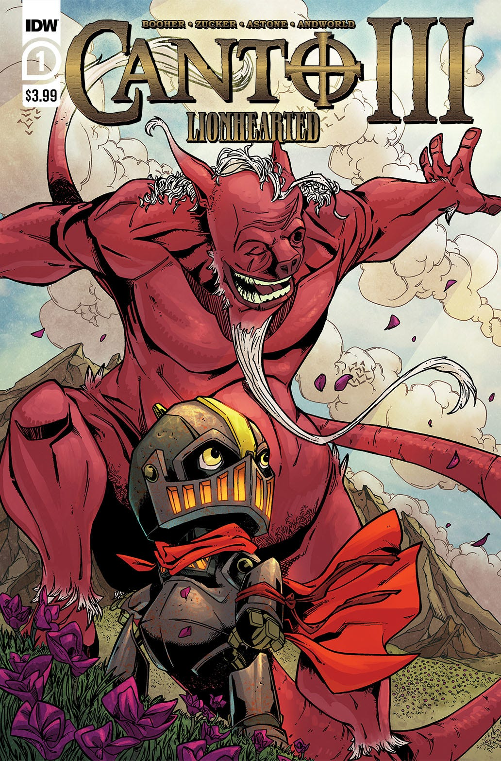 Canto III Lionhearted #1 (of 6) (Cover A - Drew Zucker)