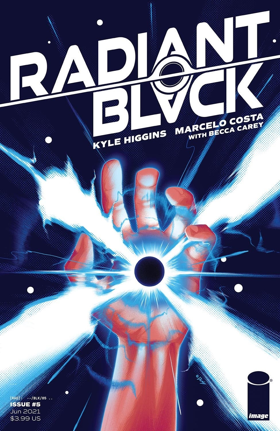 Radiant Black #5 (Cover A - Doaly)
