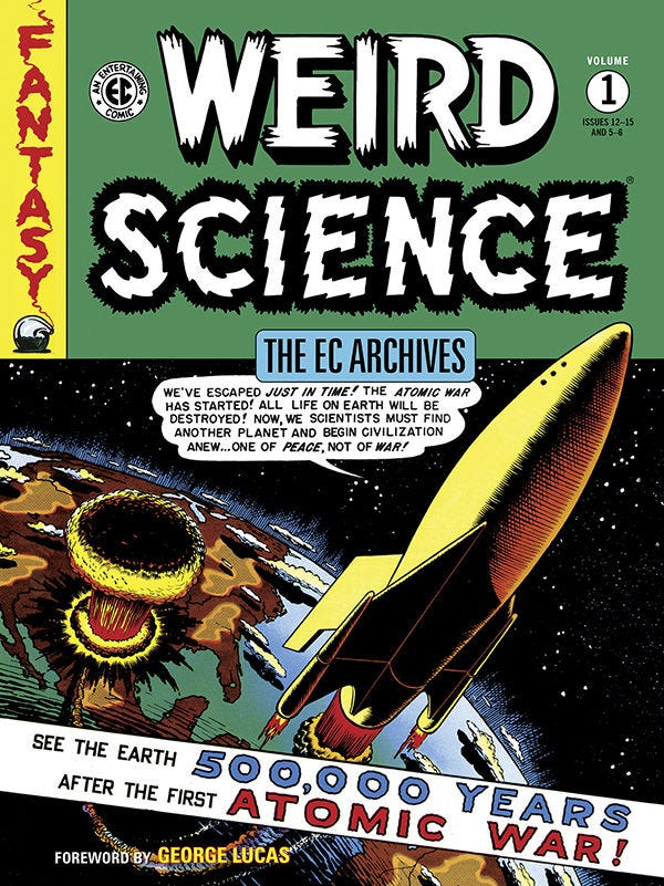 The EC Archives: Weird Science Volume 1 TPB