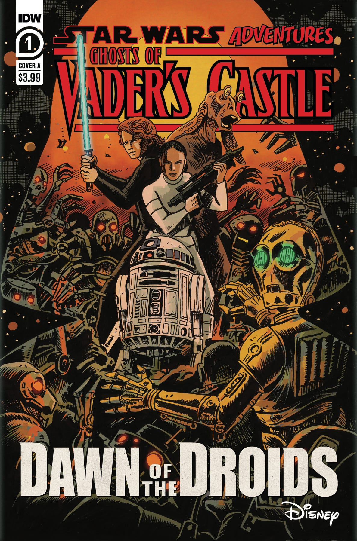 Star Wars Adv Ghost Vaders Castle #1 (of 5) (Cover A - Francavill)