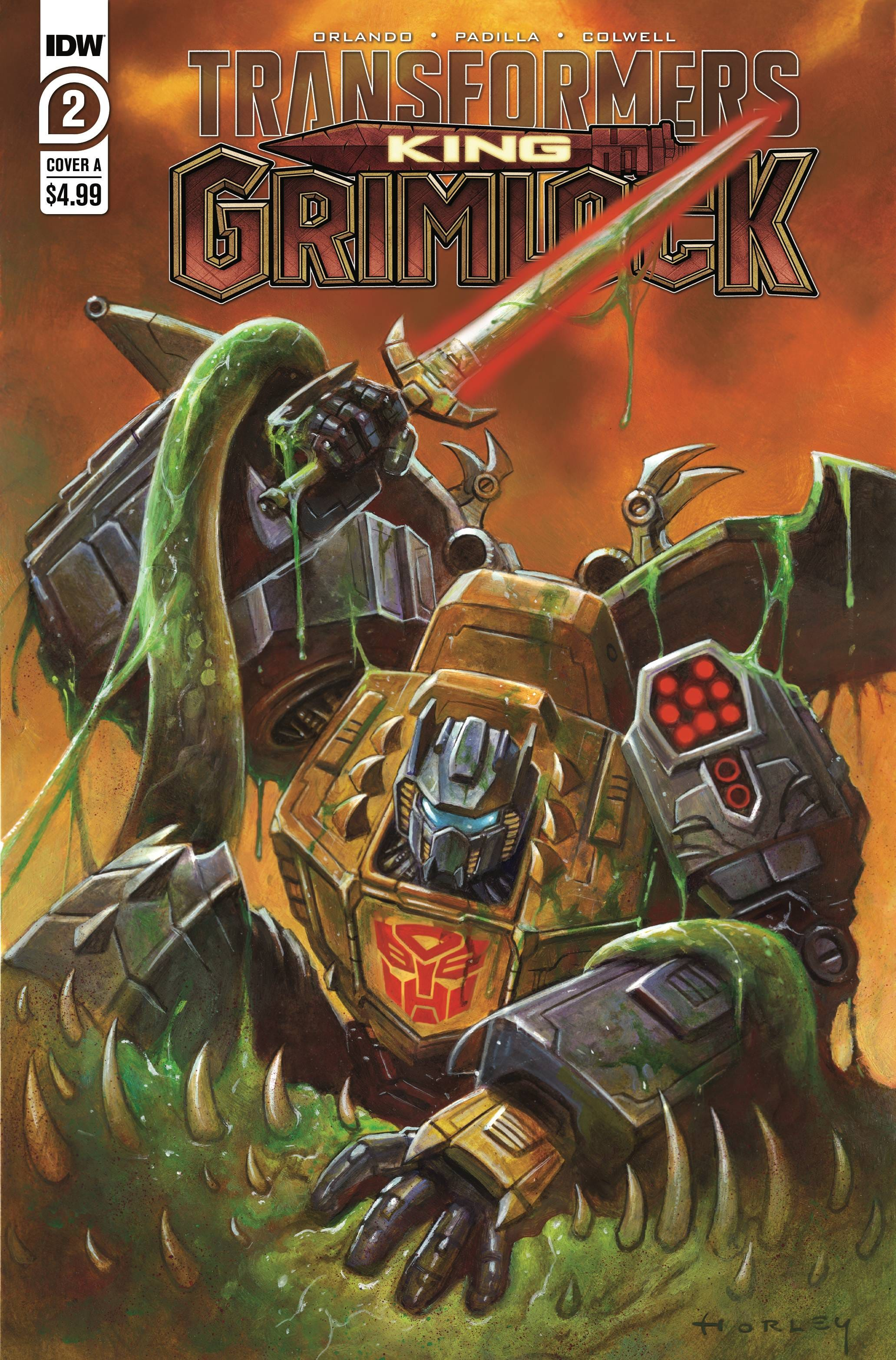 Transformers King Grimlock #2 (of 5) (Cover A - Horley)
