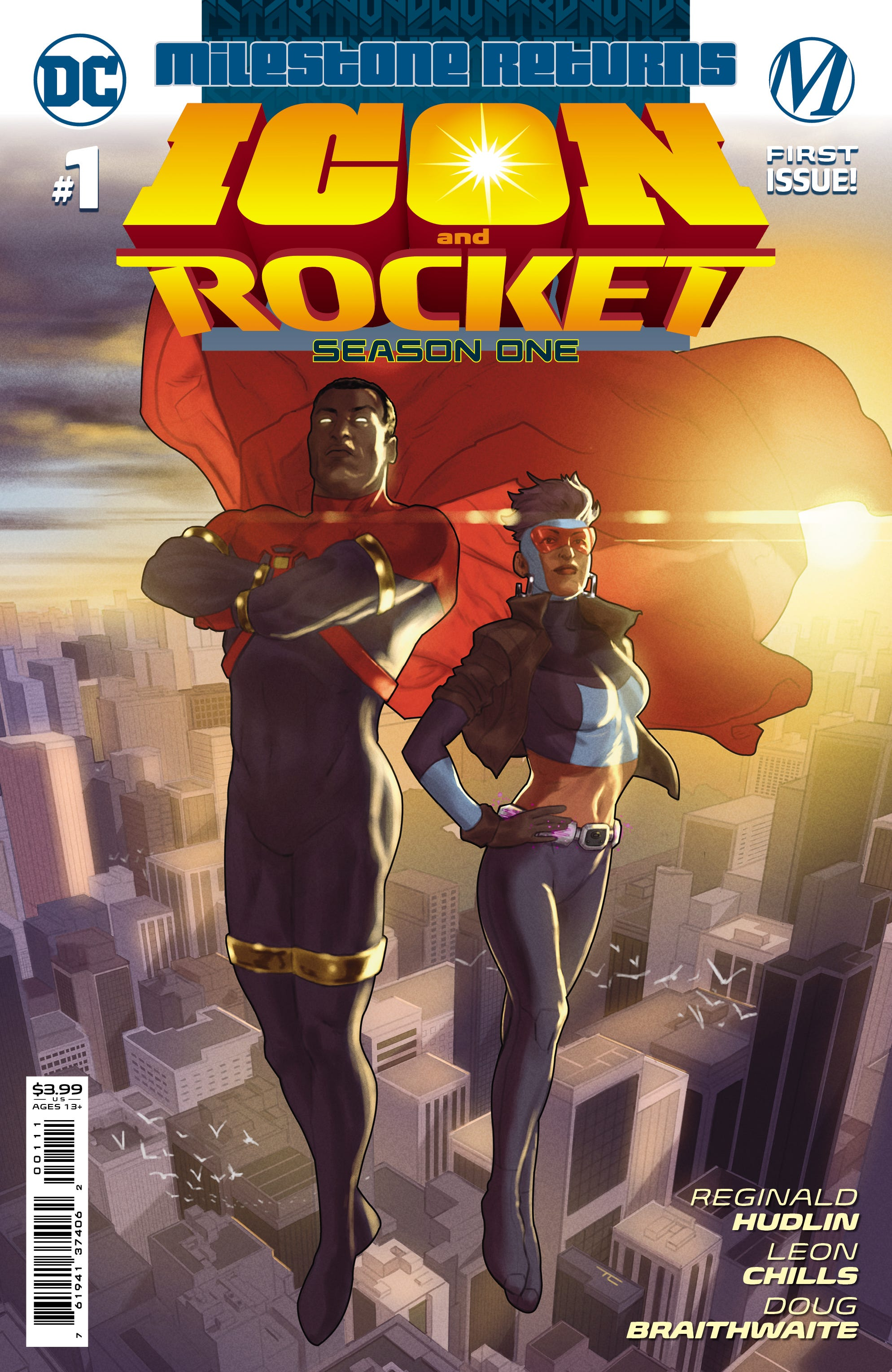 Icon & Rocket Season One #1 (of 6) (Cover A - Taurin Clarke)