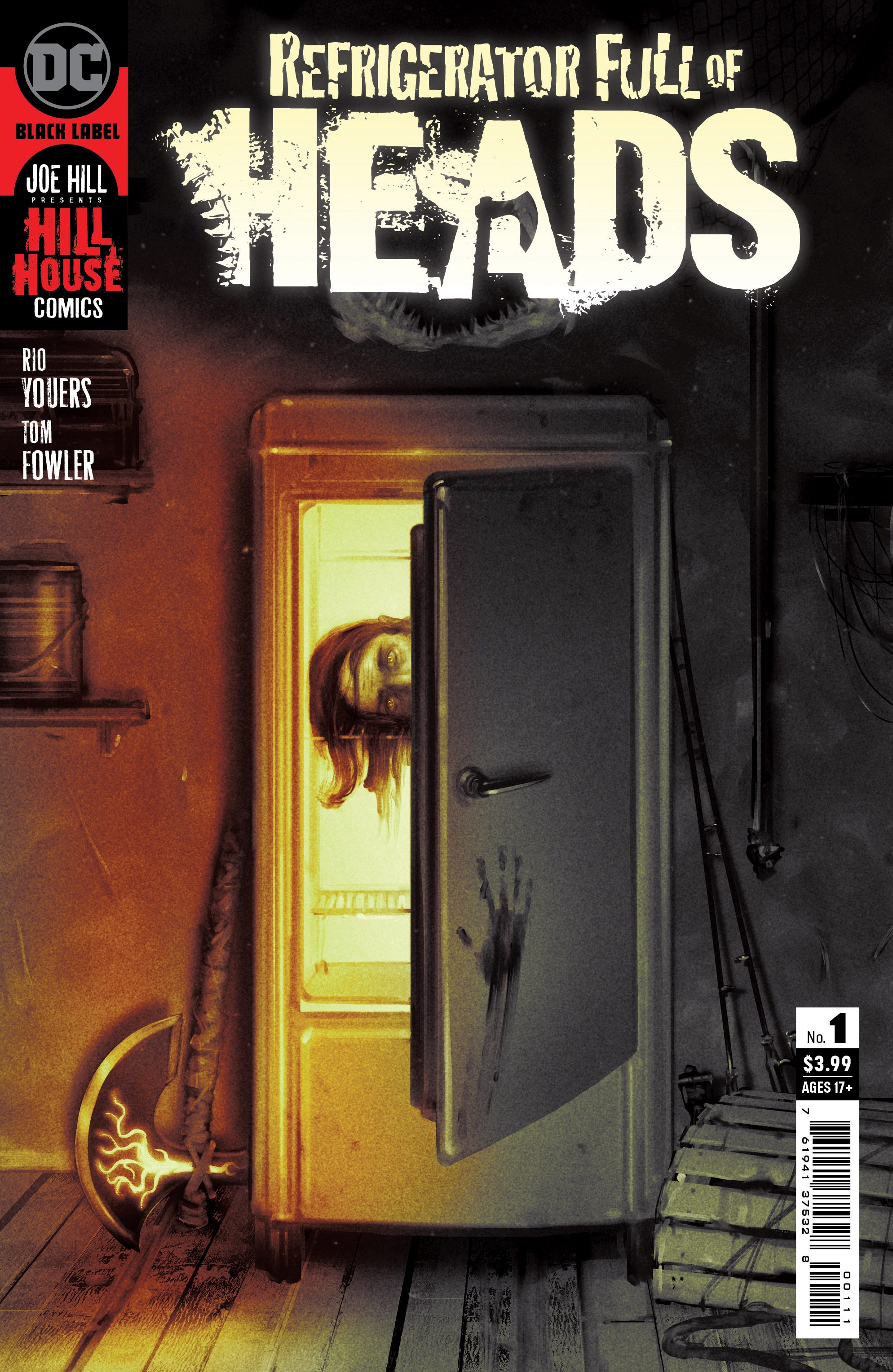 Refrigerator Full of Heads #1 (of 6) (Cover A - Sam Wolfe Connelly)